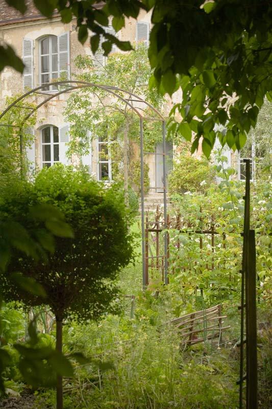 Le Jardin Entre Voir